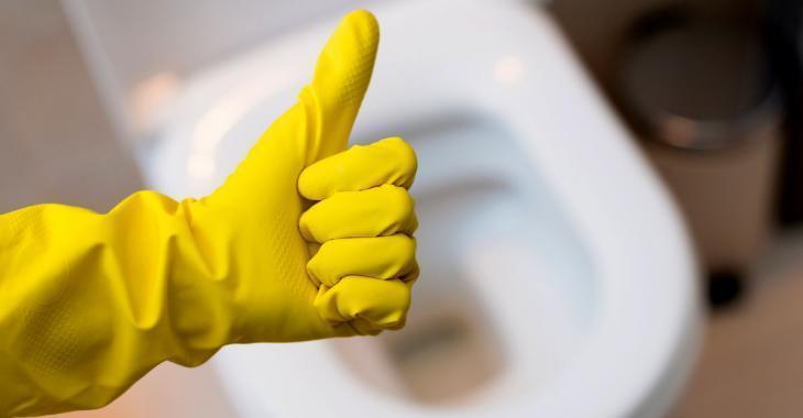 Versez un peu de vinaigre dans votre toilette pendant quelques heures puis admirez le résultat.