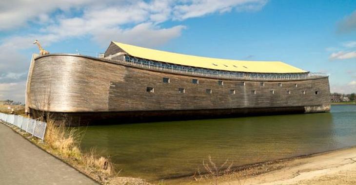 Un millionnaire a passé 20 ans à construire une arche géante, l'intérieur est la partie la plus étonnante.