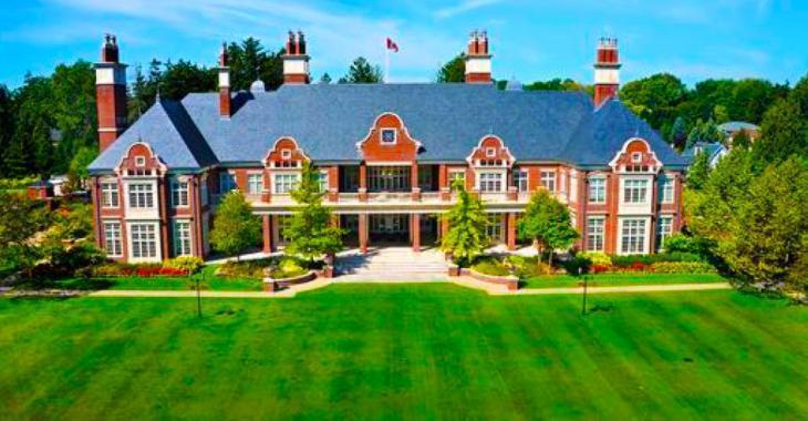 Voici la maison la plus chère de tout le Canada, son prix? Essayez de ne pas vous évanouir.