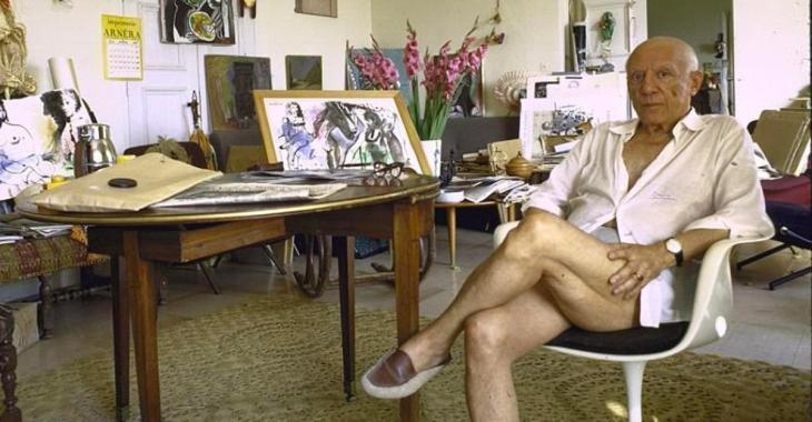 La villa de Pablo Picasso dans le sud de la France est à vendre.
