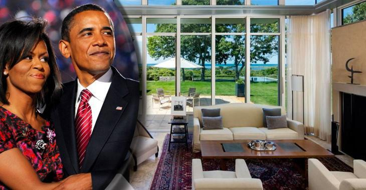 La maison de vacances des Obama est à vendre et la piscine vole la vedette!