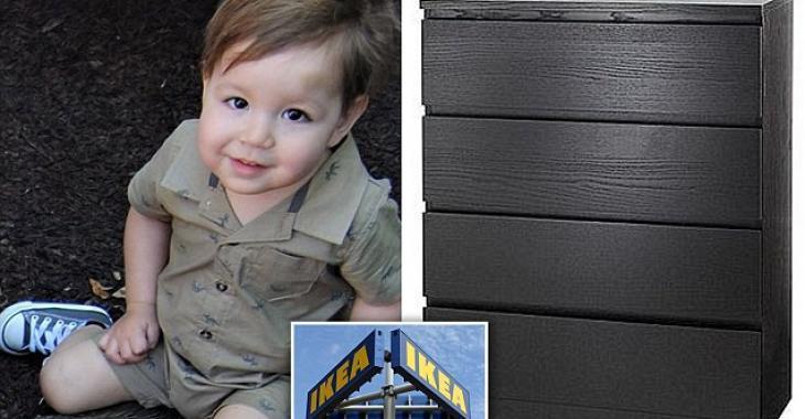 Ce petit garçon de 2 ans devient le huitième enfant à être tué par cette commode IKEA.