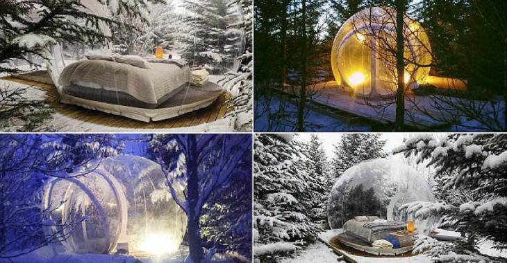 En Islande, vous pouvez dormir dans des bulles au milieu de la nature