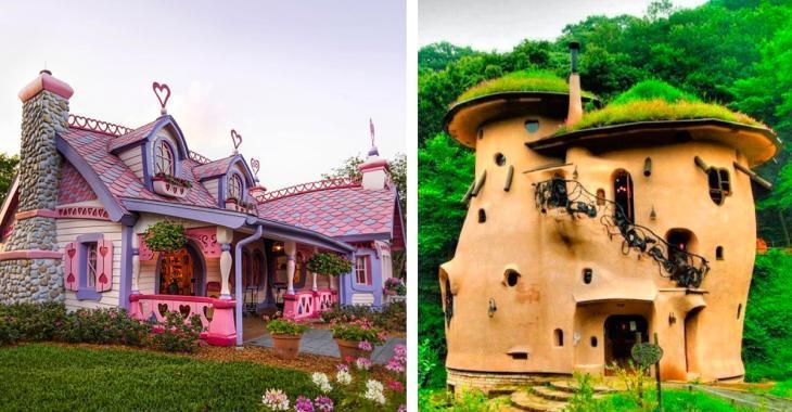 14 photos des maisons les plus uniques au monde.