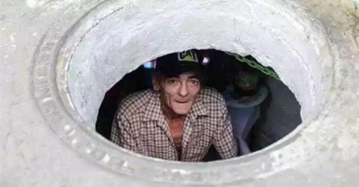 C'est dérangeant de savoir que ce couple habite dans les égouts depuis 22 ans, mais jetez un coup d'oeil à l'intérieur!