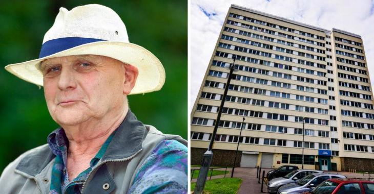 Cet homme semble habiter dans un appartement bien ordinaire, mais en voyant l'intérieur c'est le choc.