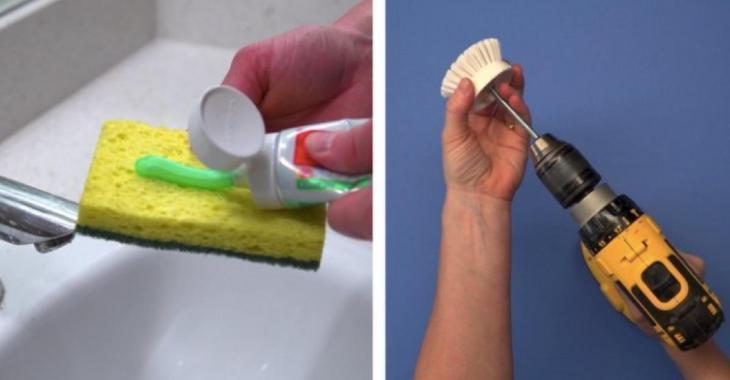 9 astuces ingénieuses qui vont faciliter le nettoyage de votre salle de bain