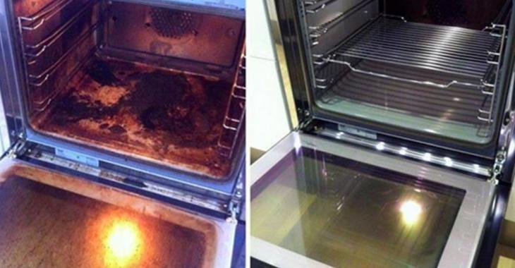 Ce nettoyant pour four 100% naturel fait vraiment des miracles!