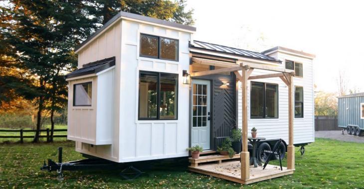 De l'extérieur cette petite maison semble bien ordinaire, mais attendez d'en admirer l'intérieur.