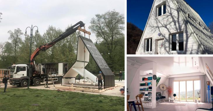Cette maison coûte uniquement 33 000$ et ne prend que six heures à construire