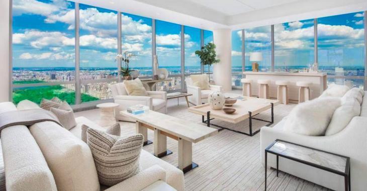 À 70 millions de dollars, ce fabuleux condo au 85è étage offre une vue imprenable sur New York