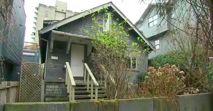 Cette vieille maison en ruines coûte en réalité sept millions de dollars
