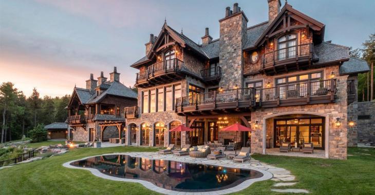 Mario Lemieux met en vente son fabuleux palace du Mont-Tremblant pour 22 millions de dollars.
