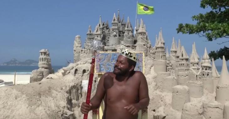 Un homme n'a pas payé de loyer pendant 20 ans parce qu'il vivait dans un immense château de sable