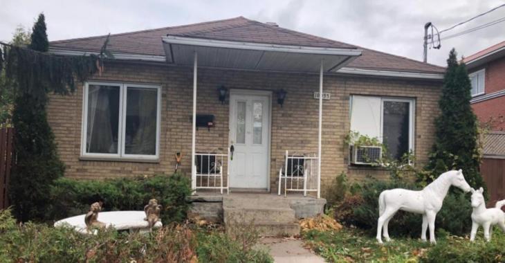 Les photos de cette maison à vendre à Montréal donnent la nausée
