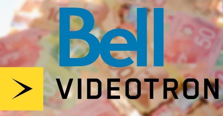 Bell et Vidéotron annoncent une importante hausse des prix pour L'Internet à partir du 1er mars