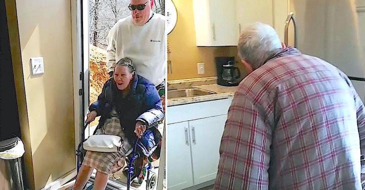 Un fils rénove complètement son sous-sol pour l'aménager afin que ses parents âgés puissent y vivre