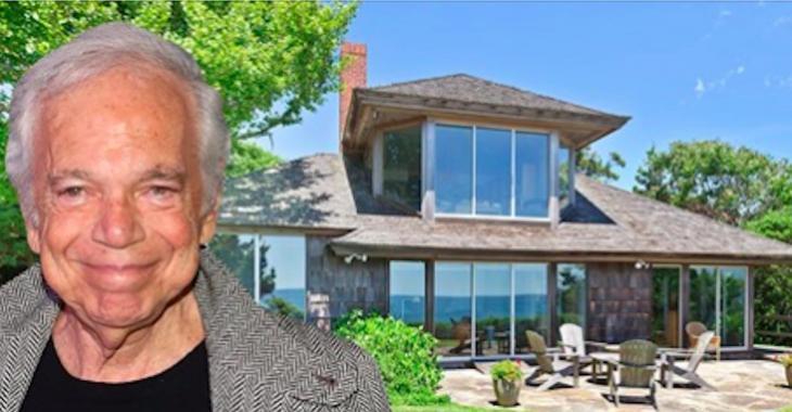 Le célèbre designer Ralph Lauren achète une nouvelle maison à 16 000 000$ et c'est l'arrière qui vole la vedette.