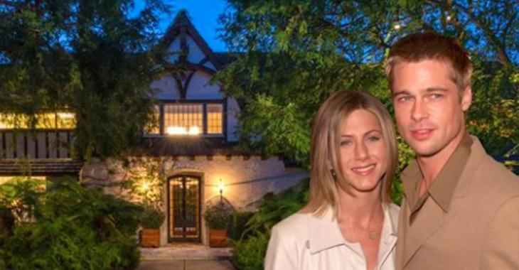 Jennifer Aniston et Brad Pitt ont passé 3 ans à rénover ce domaine de Beverly Hills avant leur divorce.